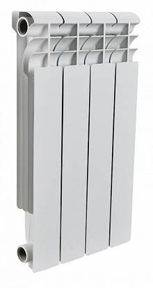 Купить биметаллический радиатор отопления Rommer Optima 4 секций по выгодной цене